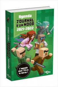 Agenda Journal d'un Noob 2021-2022 - Minecraft