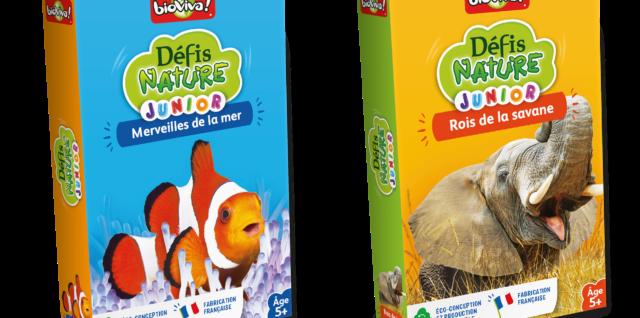 Défis Nature Junior - Rois de la savane et Défis Nature Junior - Merveilles de la mer