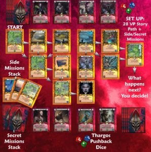 Heroes of Thargos - The Cursed Empire Card Game