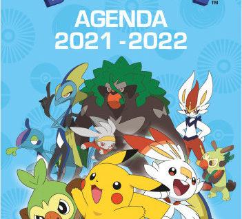 Agenda 2021-2022 Pokémon Galar