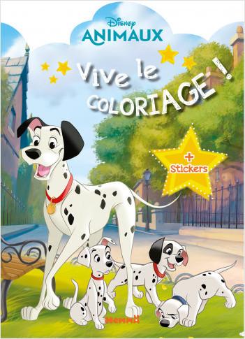 Disney Animaux – Vive le coloriage et stickers