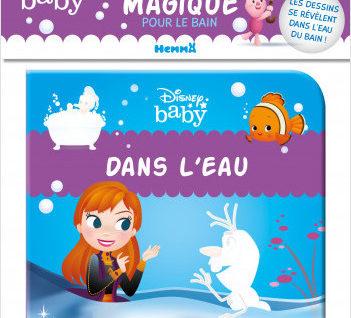 Disney Baby – Mon livre magique pour le bain – Dans l'eau