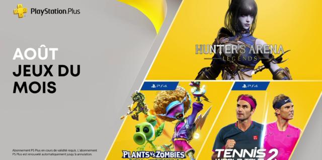PlayStation Plus août 2021