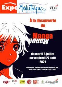 À la découverte du Manga à la Médiathèque de Châteaudun