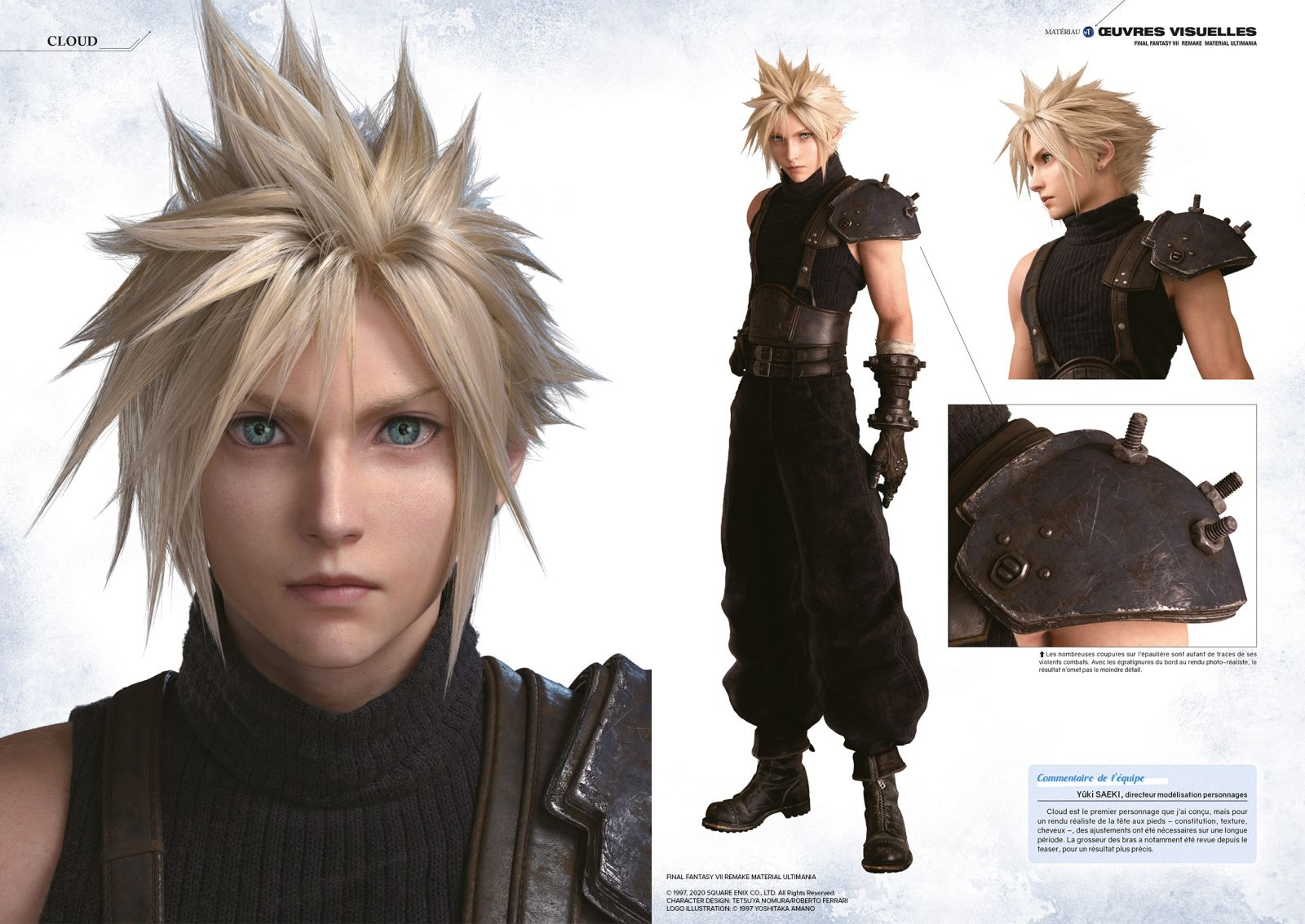 Final Fantasy VII Remake Material Ultimania