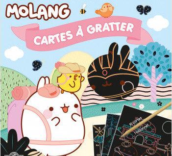 cartes à gratter Molang