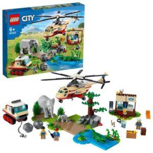 LEGO City L'opération de sauvetage des animaux sauvages