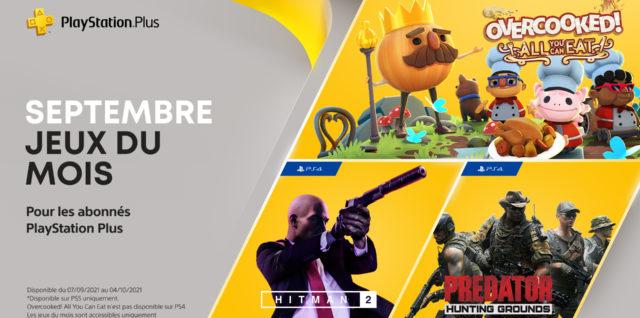 PlayStation Plus septembre 2021