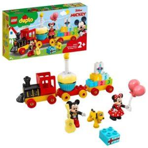 duplo Le train d'anniversaire de Mickey et Minnie