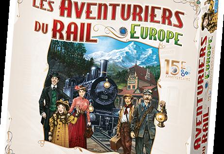 Les Aventuriers du Rail Europe Édition Collector