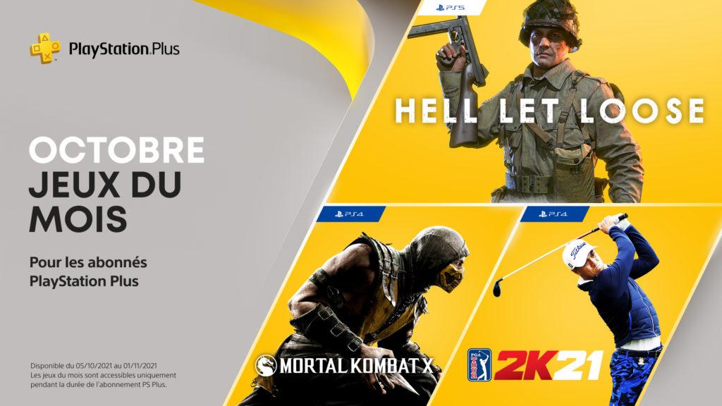 PlayStation Plus octobre 2021